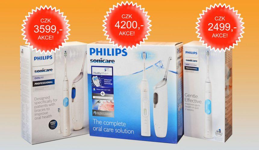 Nové modely v sonické technologii Philips k dostání pouze v ordinaci!