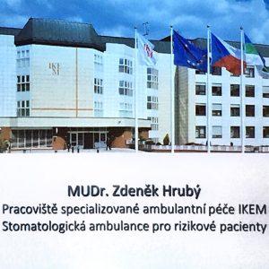 Krásné školení MUDr. Zdeňka Hrubého z IKEMU!