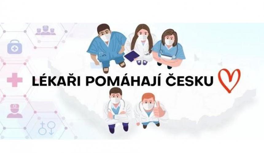 """Od prosince 2020 jsme součástí iniciativy """"Lékaři pomáhají Česku"""""""